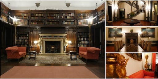 Inside the Edith Fabbri Gilded Age Mansion & Historic Grand Library