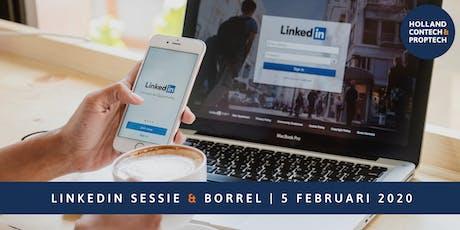 LinkedIn sessie incl. borrel tickets