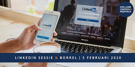 LinkedIn sessie incl. borrel tickets