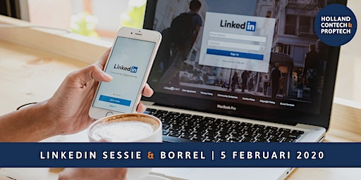 LinkedIn sessie incl. borrel