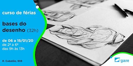 Bases do Desenho - Curso de Férias (32h) ingressos