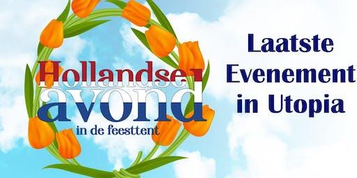 Laatste Evenement: Hollandse Avond in de feesttent  18+