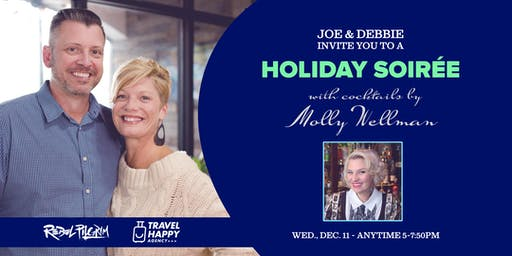 Holiday Soirée with Molly Wellman @ Rebel Pilgrim