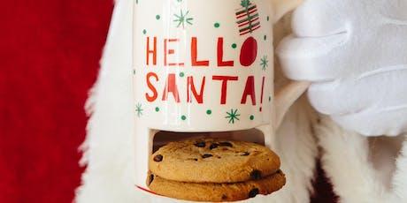Desserts with Santa tickets