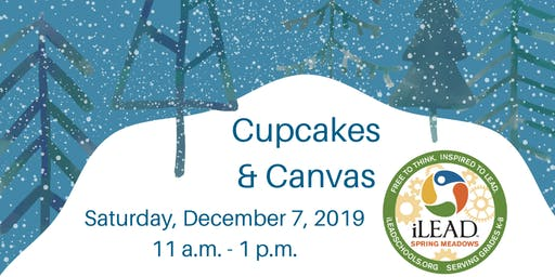 Winter Cupcakes & Canvas