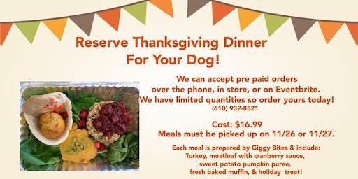 Thanksgiving Dinner For Your Dog