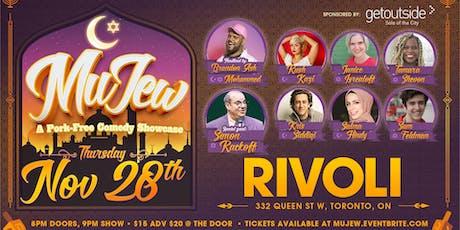 MuJew : A Muslim & Jewish Pork-Free Comedy Show tickets
