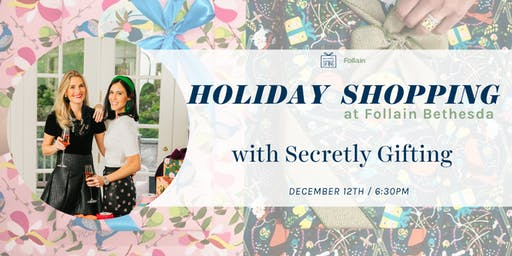 Holiday Shopping Event with Secretly Gifting