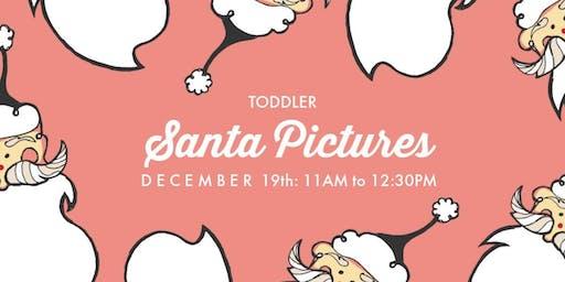 Toddler Visit with Santa
