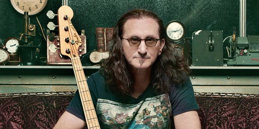 Geddy Lee signs his BIG BEAUTIFUL BOOK OF BASS at B&N-Homestead, PA