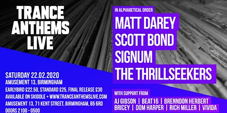 Trance Anthems Live tickets