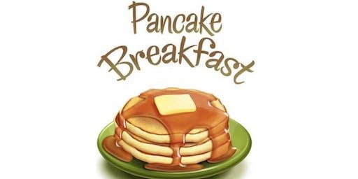 Christmas PJ Disney Pancake Breakfast with Santa
