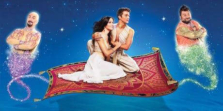 Aladin Il Musical Geniale ◉ Teatro Brancaccio biglietti