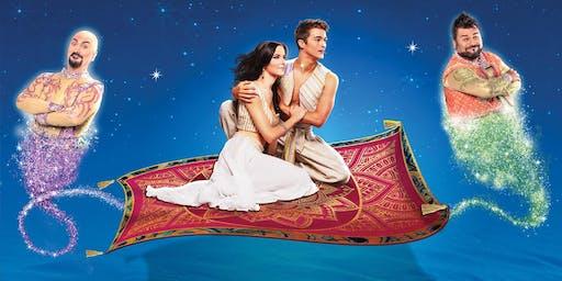 Aladin Il Musical Geniale ◉ Teatro Brancaccio