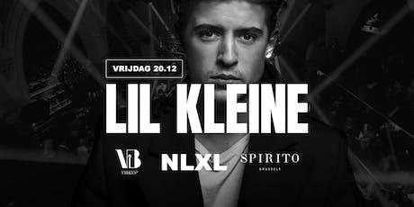 Lil Kleine @Spirito Brussels | 20 December tickets