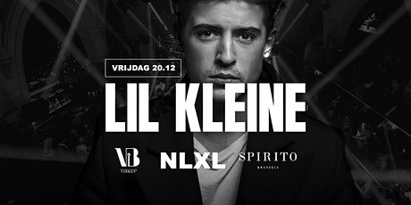 Lil Kleine @Spirito Brussels | 20 December tickets