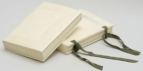 Limp Vellum Binding with Bronwen Glover