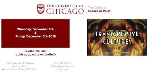 Transgressive Cultures Conference