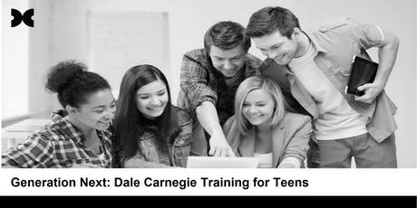 Generation.Next: Dale Carnegie Training for Teens (Runs 3 Consecutive Days) tickets
