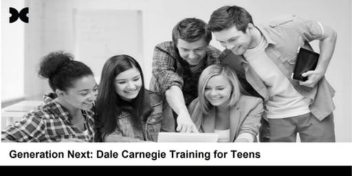 Generation.Next: Dale Carnegie Training for Teens (Runs 3 Consecutive Days)
