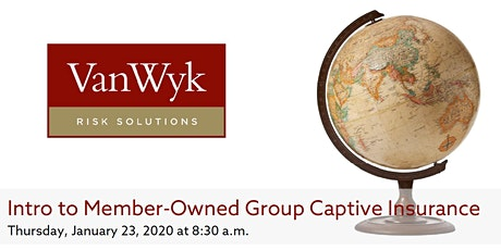 Intro to Member-Owned Group Captive Insurance tickets