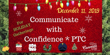 Communicating with Confidence for the  HOLIDAYS! tickets