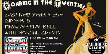 Roaring 20's New Years Eve Dinner and Masquerade Bash tickets
