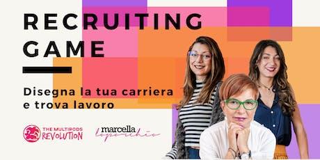 Recruiting game: disegna la tua carriera e trova lavoro biglietti