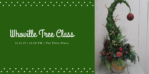 Whoville Tree Class