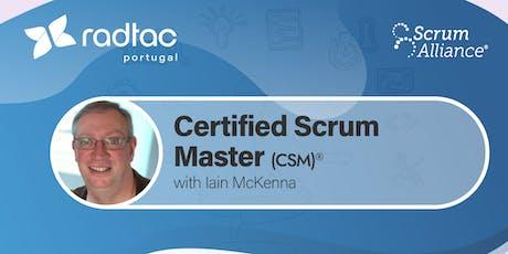 Certified ScrumMaster®  tickets