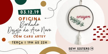Sew Sisters - Oficina de Bordado - Desejo de Ano Novo tickets