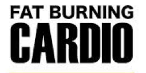 FAT BURNING CARDIO  / TUESDAY  - 7:00PM at Dynamic Fitness