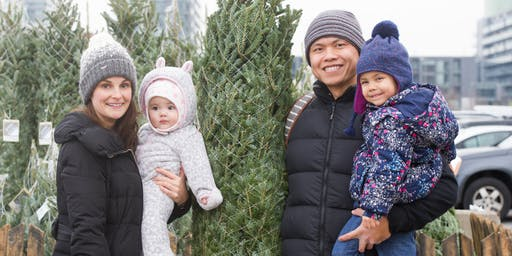 Forests Ontario's Annual Christmas Tree Sale @ the Toronto Christmas Market