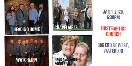 New Year's Day Hymn Sing with, Heading Home, Watchmen, Chapelaires & Hank and Janet Sonnenberg tickets