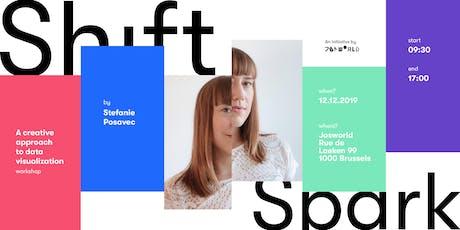 Shift&Spark: Data-drawing workshop with Stefanie Posavec tickets