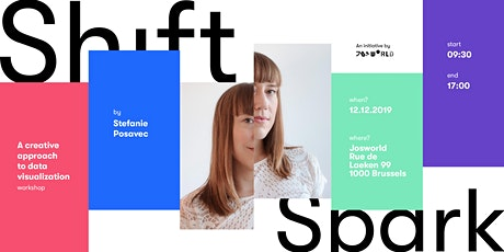 Shift&Spark: Data-drawing workshop with Stefanie Posavec billets