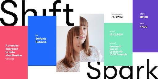 Shift&Spark: Data-drawing workshop with Stefanie Posavec