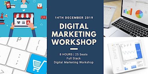 Digital Marketing Workshop | 8 Hours | 2 days | Full Stack Course