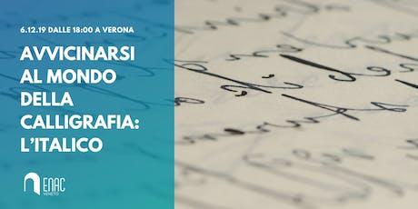 Avvicinarsi al mondo della Calligrafia: l'italico - Workshop gratuito biglietti