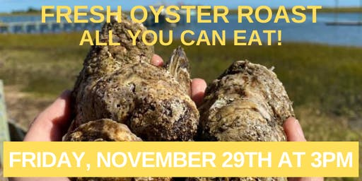 Oyster Roast at The Sailfish - ALL YOU CAN EAT!