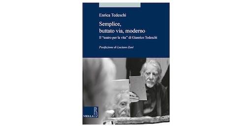 Presentazione del libro di Enrica Tedeschi