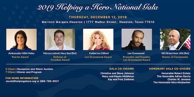 2019 Helping a Hero National Gala