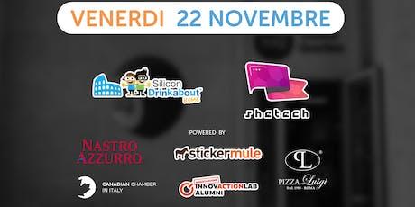 #32 Silicon Drinkabout Rome - 22 novembre biglietti