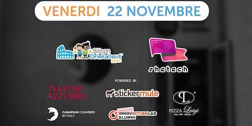 #32 Silicon Drinkabout Rome - 22 novembre