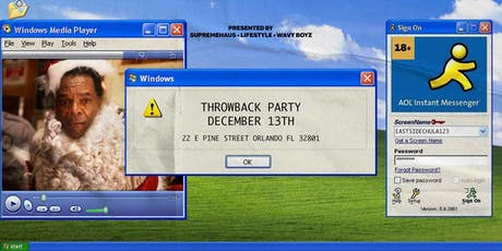 THROWBACK PARTY | THROWBACK MUSIC ALL NIGHT! tickets
