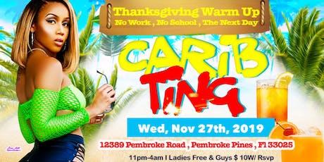 Carib Ting : Dancehall Vs Soca tickets