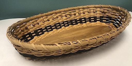 Basket Weaving: Oval Bread/Cracker Basket