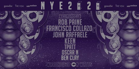 NYE 2020 pres. by goodie, subsurface, the vza tickets