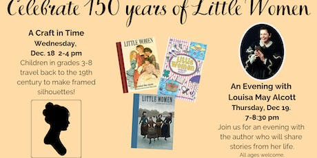 A Craft In Time: Louisa May Alcott tickets