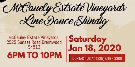 McCauley Estate Vineyards Line Dance Shindig